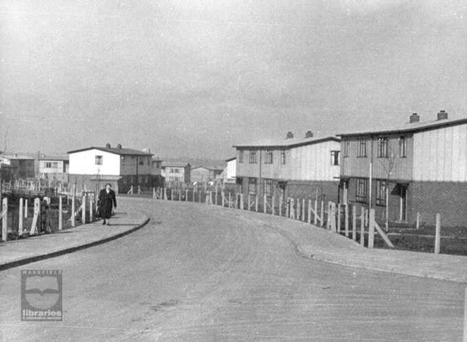 Council housing on Ruskin Drive, Airedale, 1950