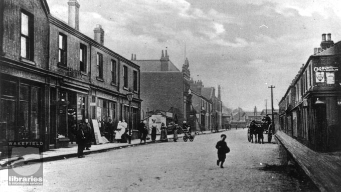 Station Lane, Featherstone