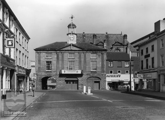 Market Place and Town Hall, Pontefract