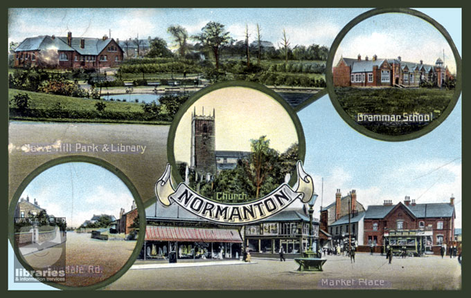 Views of Normanton, 1905-1910