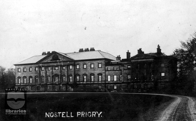 East front of Nostell Priory